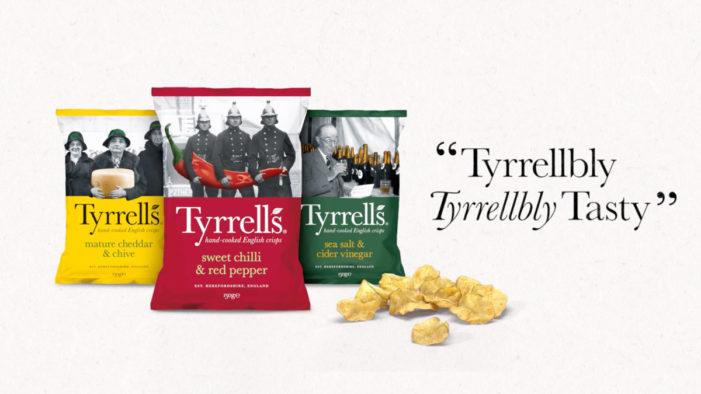 "St Luke's Unveils First ""Tyrrellbly, Tyrrellbly, Tasty"" Campaign For KP Snacks' Tyrrells Brand"