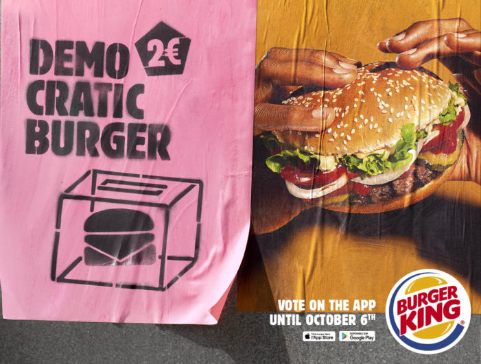 Burger King is Launching the Most Democratically Elected Burger