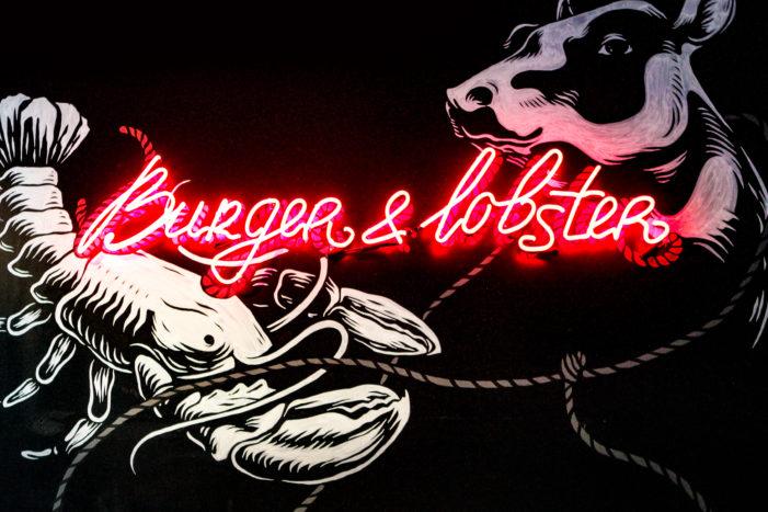 Vault49 unveils murals for Burger & Lobster in New York's Flatiron District