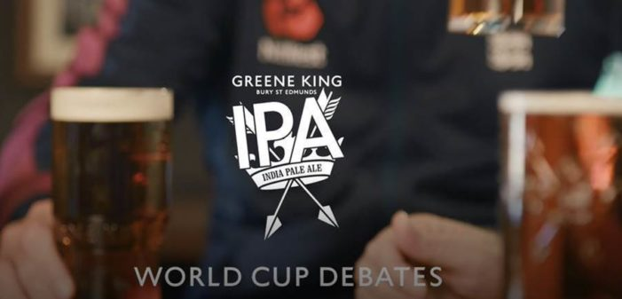 Greene King IPA launch new Rugby World Cup Campaign… with the England Cricket Team