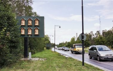 Nord DDB Helps McDonald's Use Outdoor Advertising Space to Build Habitats for Wild Bees