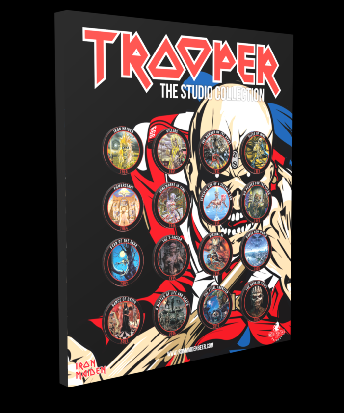 Trooper And Robinson Announce Limited Edition Collector Bottle Caps