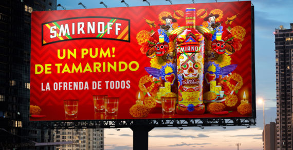 Smirnoff X1 launches limited-edition Day of the Dead packaging and campaign
