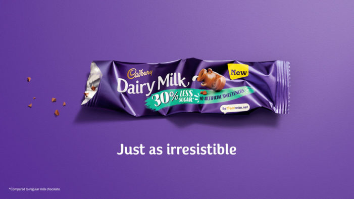 Cadbury Dairy Milk 30% Less Sugar challenges taste perceptions in new campaign