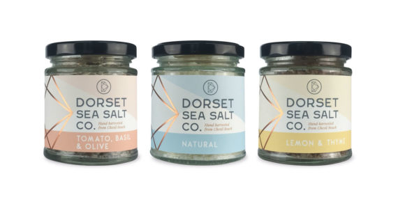 Dorset Sea Salt Co. crystallised with sharp new look by The Collaborators
