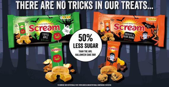 Soreen's Scream Range is back by popular demand and in time for Halloween
