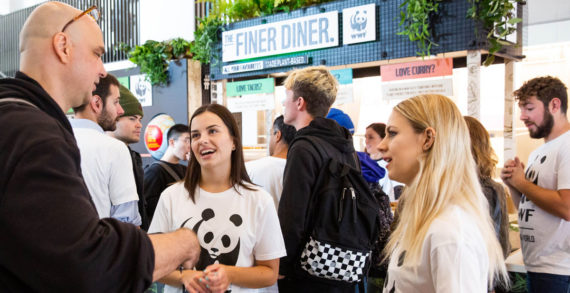 WWF and Sodexo serve up students' favourite foods with a planet-friendly twist