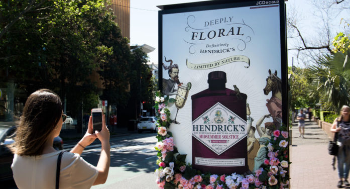 Hendrick's Gin enchants Sydneysiders with mid-summer solstice OOH campaign via Posterscope