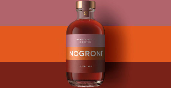 Pearlfisher designs the identity and packaging for Seedlip's newest, ready-to-drink offering, NOgroni