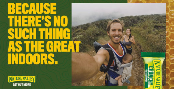 Nature Valley invites the UK to 'Get Out More'