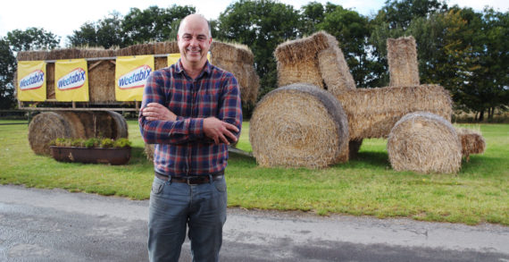 Local farmer wins Weetabix 'Wheat Art' competition with tractor sculpture
