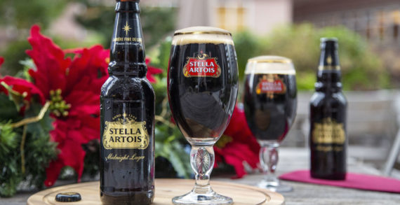 Stella Artois announces its first-ever limited-edition holiday beer called Midnight Lager