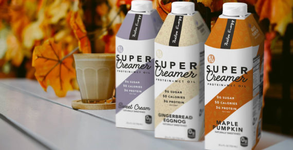 Kitu's Super Creamer Brings Healthy Holidays Home with Seasonal Flavours in SIG's Combidome Packaging