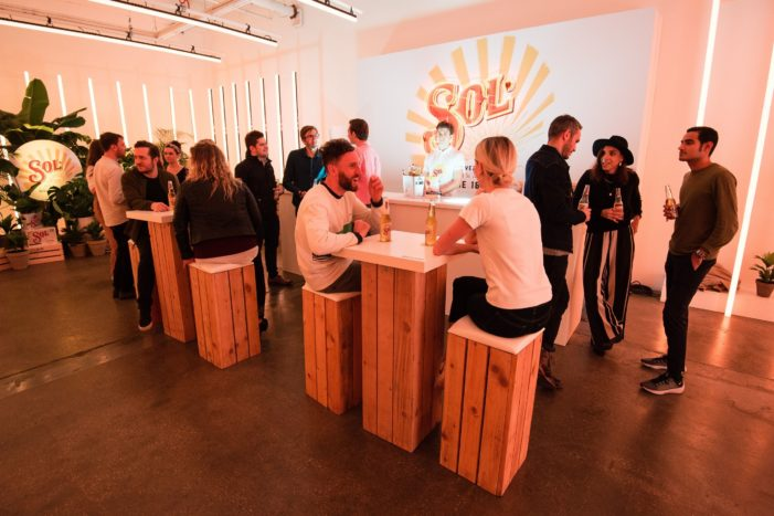 Sol invites Londoners at the first bar where the sun never sets