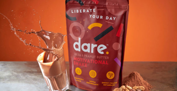Family (and friends) create brand identity for Dare, the physical and motivational shake