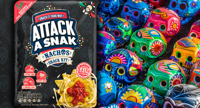Wowme Design brings a new Attack A Snak pack to life.