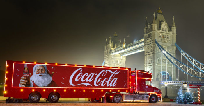 Holidays are Coming! Coca-Cola reveals 2019 Christmas Truck Tour!