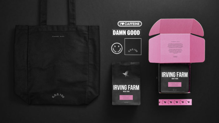 Irving Farm Creates Blend to Benefit Charity with Agency Standard Black