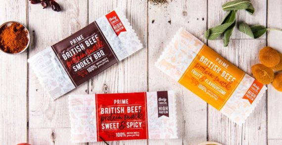 Prime Bar Takes Savoury Snacks With 'Real British Beef Protein' Into The Mainstream