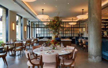 DesignLSM create the interiors for Sam Harrison's new riverside dining destination