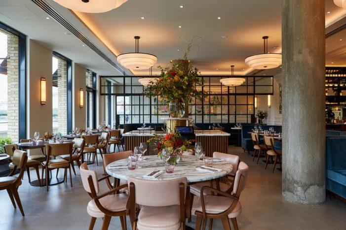 DesignLSM create the interiors for Sam Harrison's new riverside dining destination
