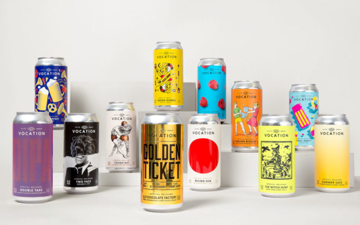 Robot Food and Vocation Brewery partner for a whole year of Special Editions