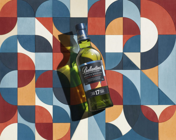 Leagas Delaney and Ballantine's launch latest campaign in Artist series