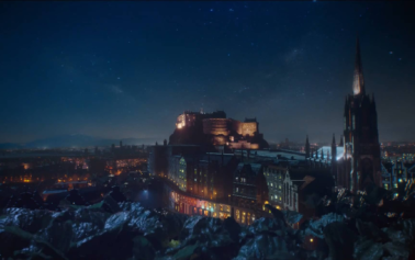 Bakehouse Close Is Transformed into a Wonder-Filled Urban Party for Edinburgh Gin's Debut TV Ad