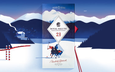 The King of Sport meets The King of Whisky: Royal Salute Snow Polo Edition