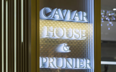 New Brand Environment for Caviar House & Prunier