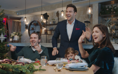 Boys+Girls And Three Reunite Irish Immigrants In New York With Their Families Back Home Through The Connected Restaurant