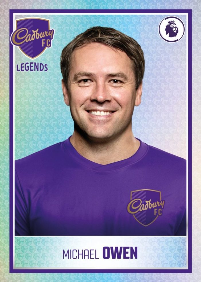 Cadbury teams up with Panini as it invites customers to 'Find the Shiny, Win a Legend'