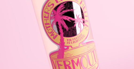 Thirst Craft create a dreamlike design for Mother's Little Helper Vermouth