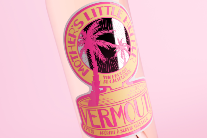 Thirst Craft create a dreamlike design for Mother's Little Helper Vermouth