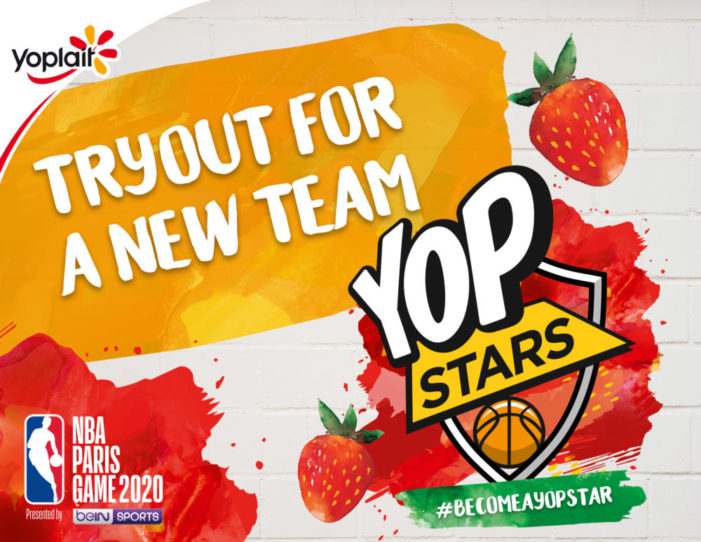 Yoplait creates #BecomeaYOPStar with Space for The NBA Paris Game 2020 Presented by beIN SPORT