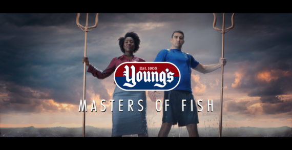 "Young's Seafood makes a splash with ""Masters of Fish"" in Inspirational New Campaign by Quiet Storm"