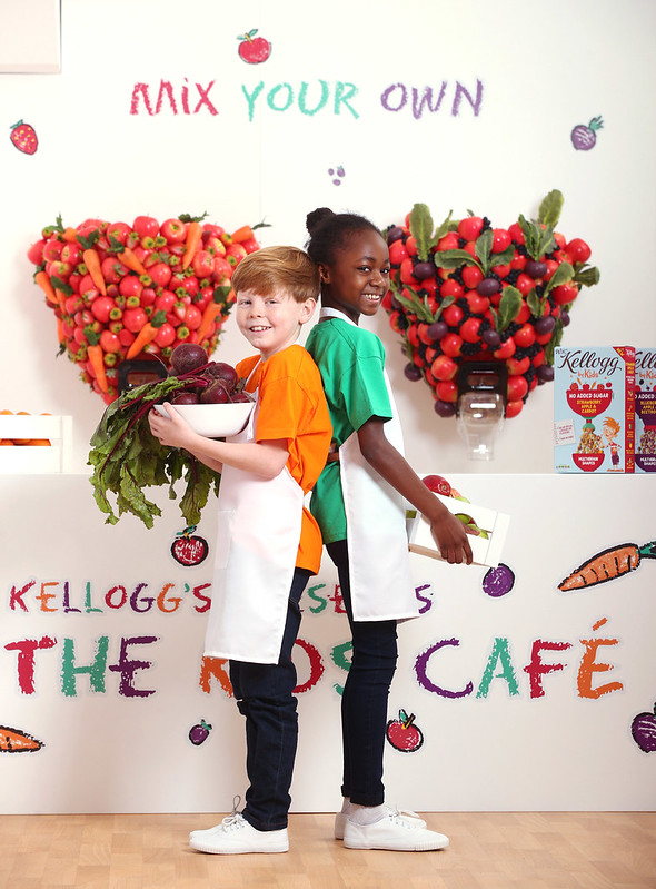 KELLOGG'S OPEN FIRST CEREAL CAFÉ FOR KIDS TO LAUNCH NEW W.K KELLOGG BY KIDS