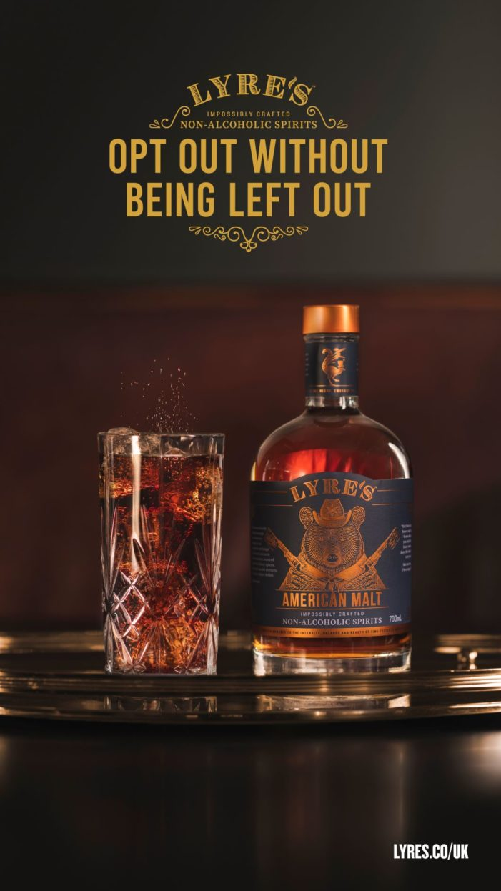Lyre's Non Alcoholic Spirits Launches First Nationwide Digital And Outdoor Brand Campaign