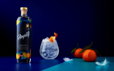 """Elmwood Leeds creates Amplify, a bold, playful new zero-alcohol drinks brand that is """"Free of alcohol, free in spirit."""""""