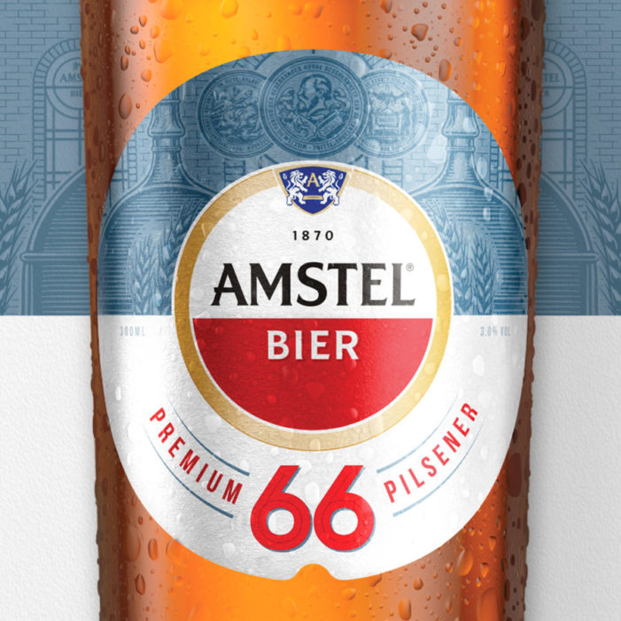 Elmwood London creates design for launch of low-cal beer Amstel 66