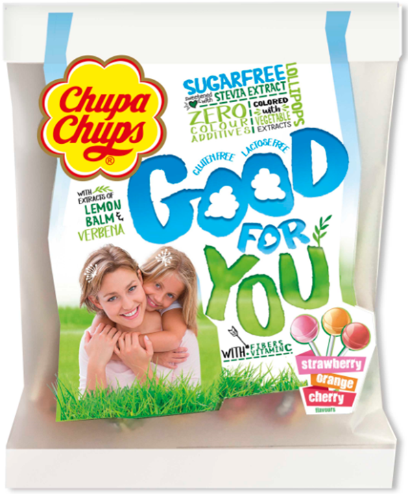 Bags Of Goodness: New Chupa Chups Good For You