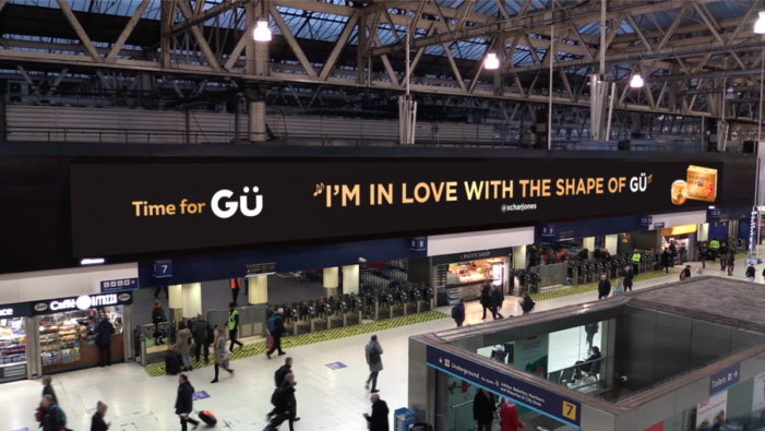 Gü Spreads the Love with Interactive DOOH Valentine's Day Campaign