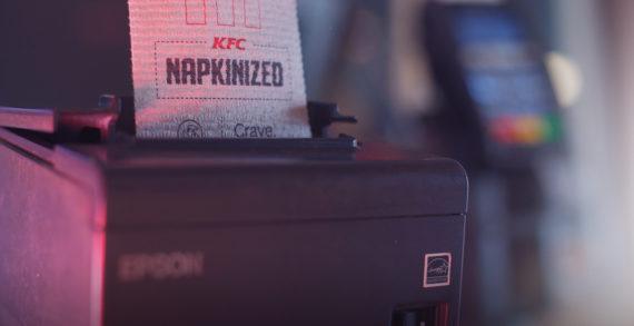 KFC got NAPKINIZED!