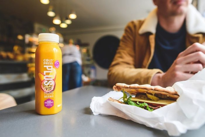 Sales Of Coldpress's New Breed Of Smoothies With 'Added Benefits' Soar