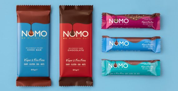 Kinnerton hires Red Brick Road for UK's no.1 vegan chocolate brand, NOMO
