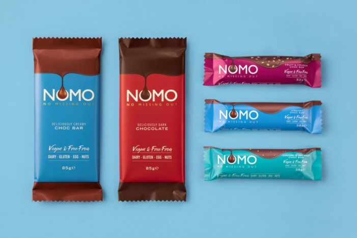Kinnerton hires Red Brick Road for UK's no.1 vegan chocolate brand, NOMO
