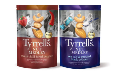 Tyrrells Goes Nuts With A New Range Design From This Way Up
