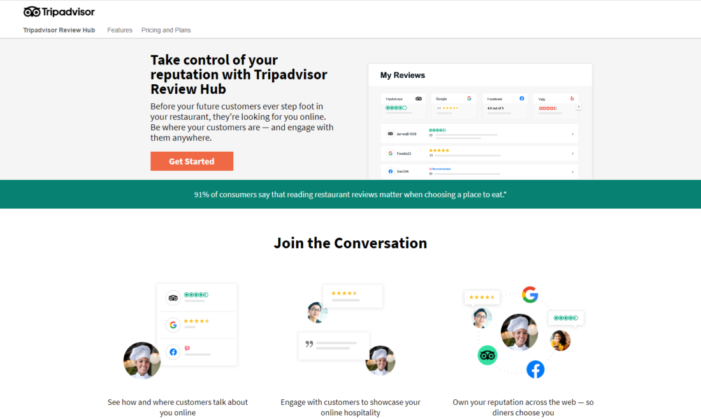 Tripadvisor Launches Review Hub to Help Restaurant Owners Manage Online Reviews across Major Dining Sites