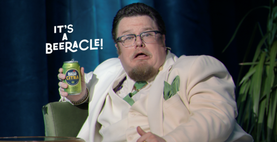 """Burns Group Launches """"IT'S A BEERACLE"""" Campaign for Blue Citra by Labatt"""