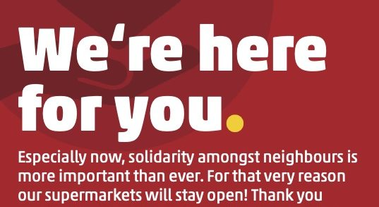 """PENNY Supermarkets Say A Public Thank you to the """"Heroes of the Neighbourhood"""""""